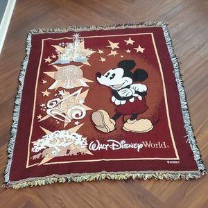 Walt Disney's World Throw Blanket